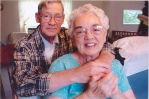 Grandma and Grandpa, photo credit Philip Maslin